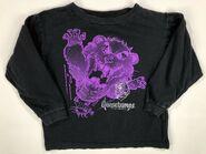 Cuddles purple line art 1996 long sleeve shirt