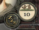 Boots icon and a numeric value