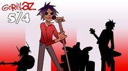 Gorillaz - 5 4 Fan Animation *G-BITE TEASER*