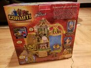 Forest popup playset scatola retro