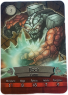 Metalcard 3 rock fronte