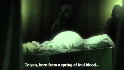 Pregnant Anime Girl Gives Birth from the TV Show Gosick
