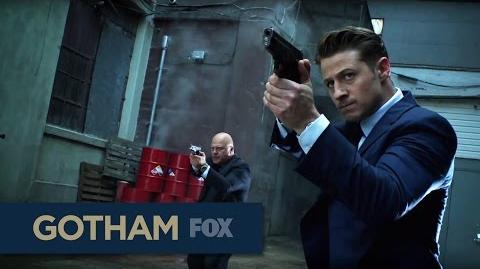 "GOTHAM An Explosive End from ""Rise of the Villains Scarification"""