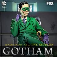 The Riddler season 2 promotional artwork