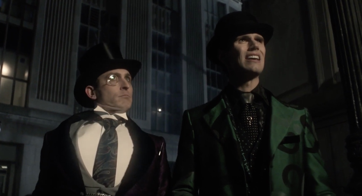 Details about  /The Riddler Gotham Season 5 Edward Nygma Riddler Cosplay Green Uniform Feng8