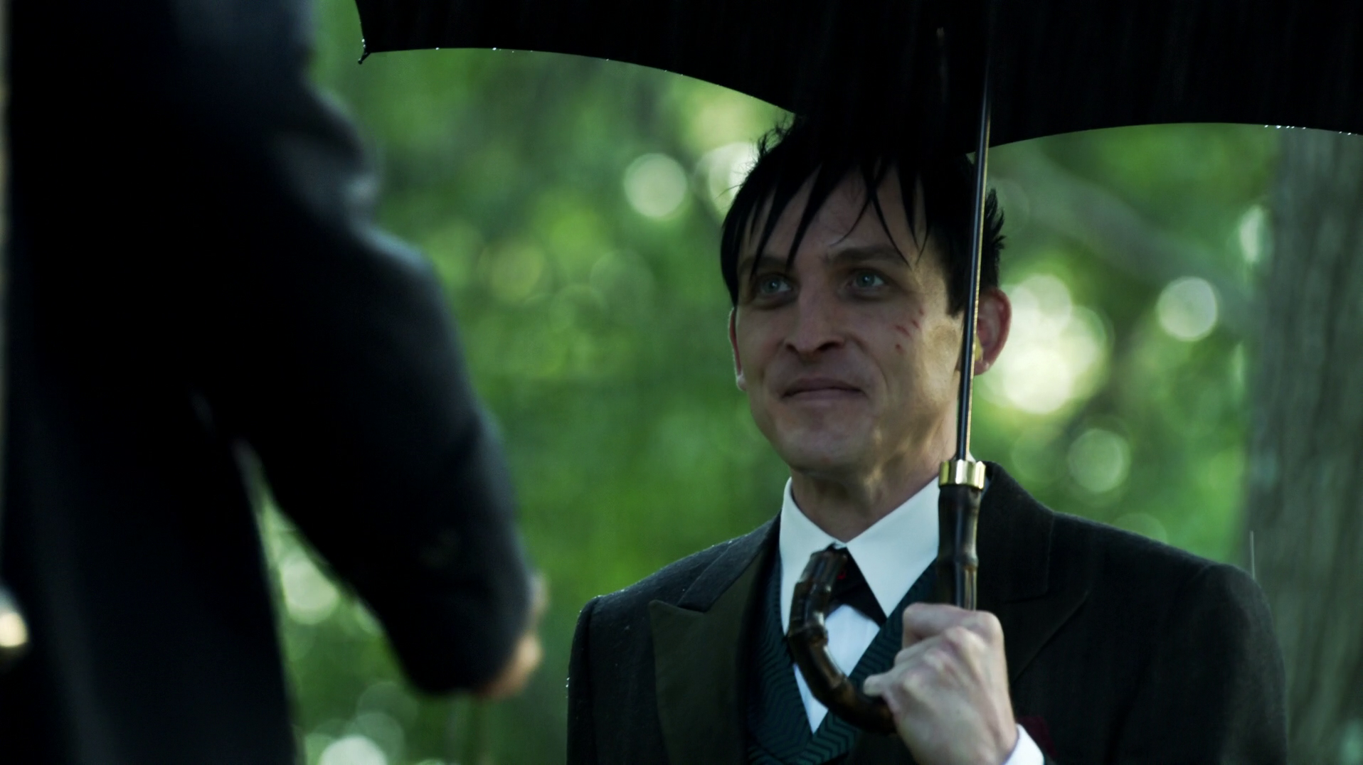 Fish Mooney's umbrella