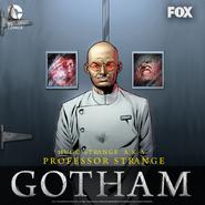 Hugo Strange season 2 promotional artwork