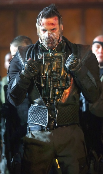 Bane's life support suit