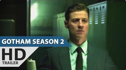 Gotham Season 2 - Teaser Trailer (2015) The Joker, Penguin-0