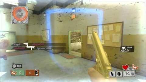 Gold Gun Camo Team Kingmaker 17-3- Gotham City Impostors Kingmaker only gameplay