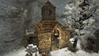 Kaplica w klasztorze w Nordmarze