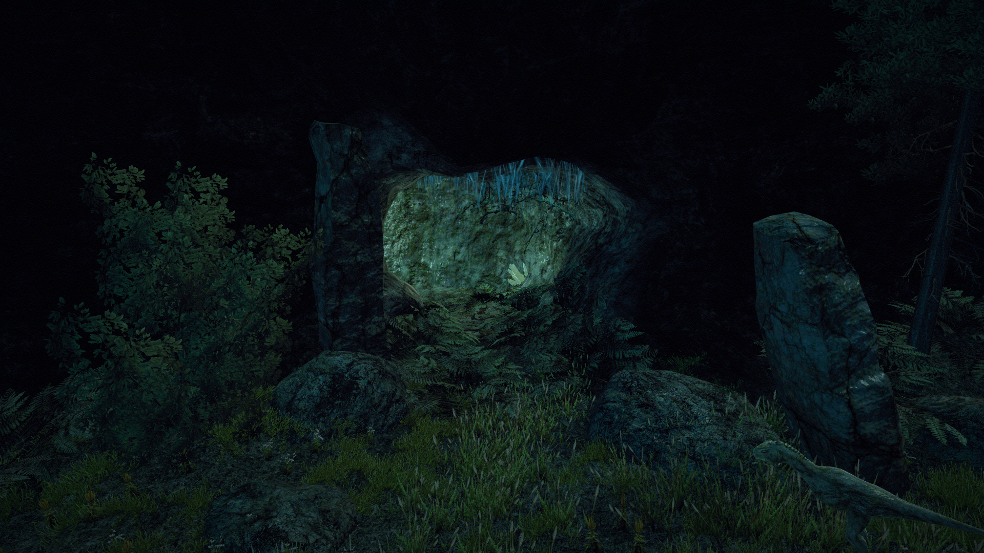 Jaskinia ożywieńców koło Trelis