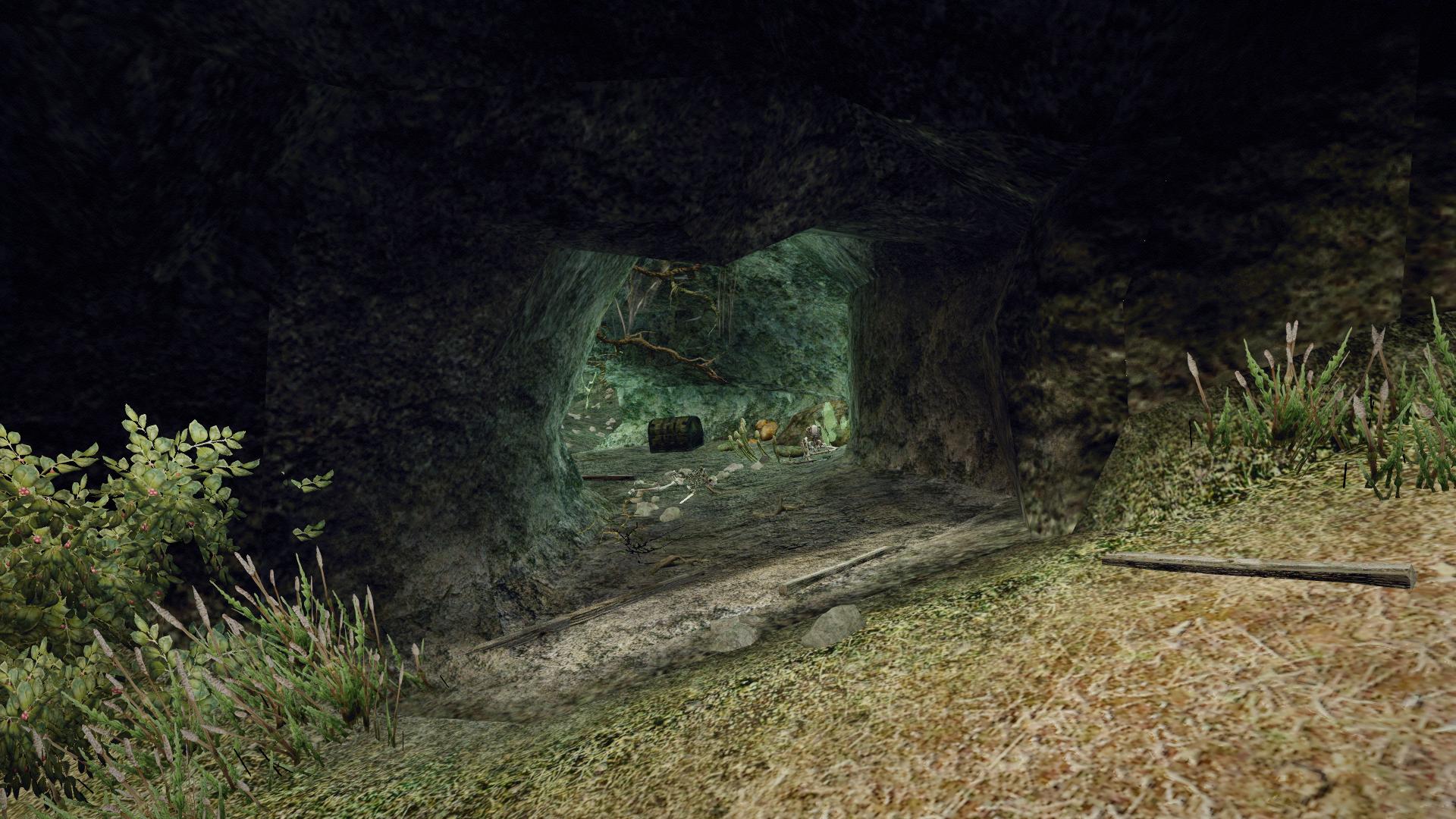 Jaskinie pod Cape Dun