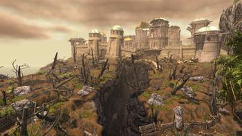 Setarrif i jego przedpola – pole bitwy