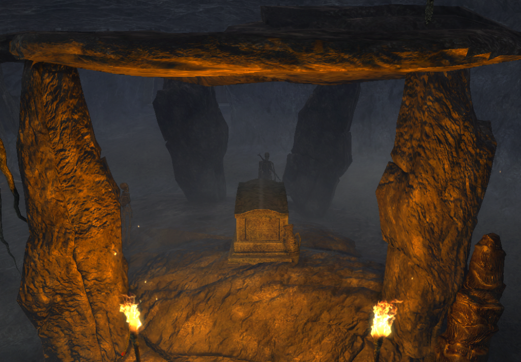 Stara krypta na wyspie Argaan