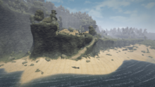 Cape Dun (Gothic 3, od strony morza)