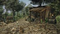 Obóz Anoga (chata Fremana)