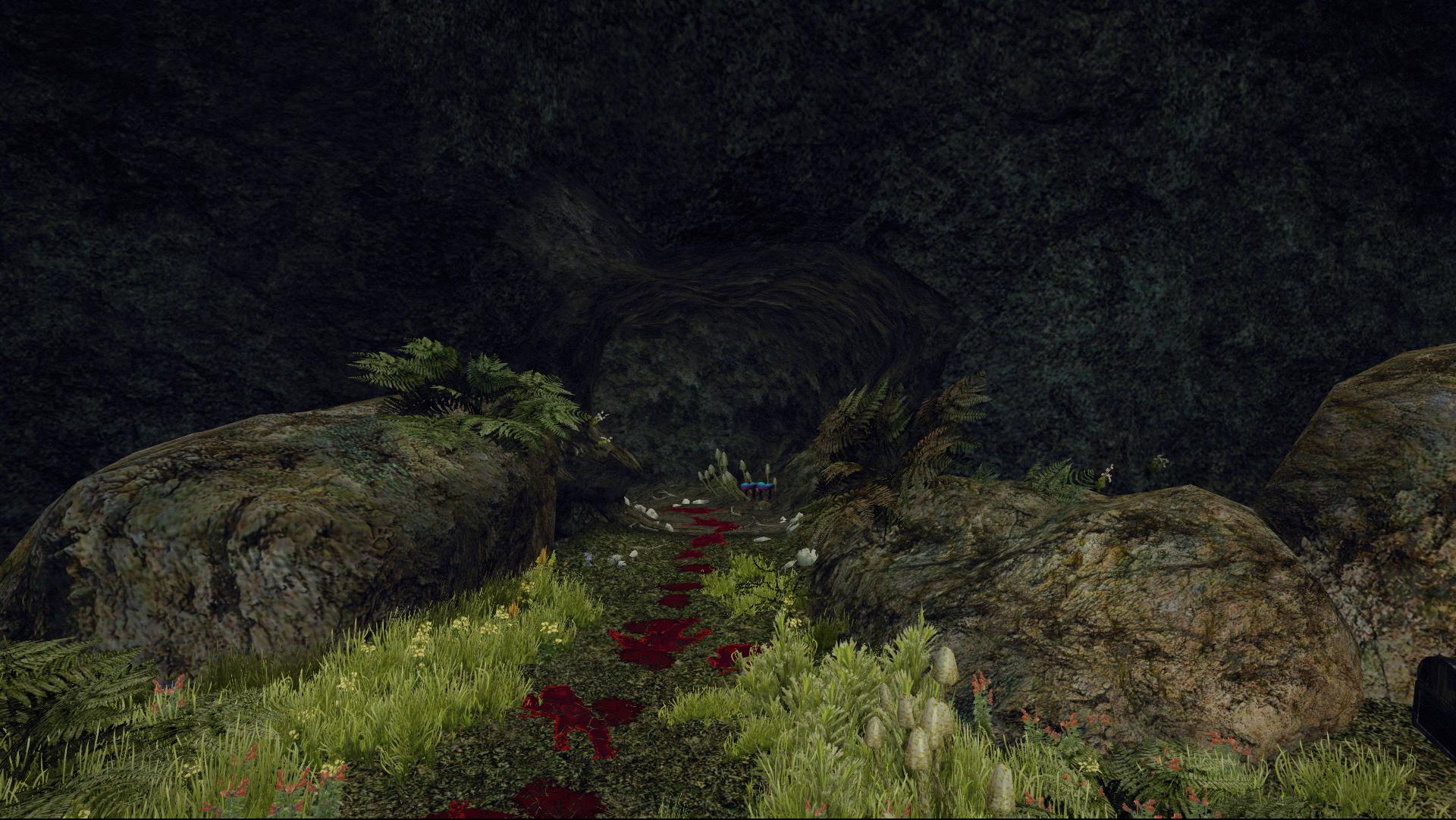 Jaskinia cieniostworów między Ardeą a Monterą