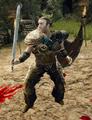 Moff walczy