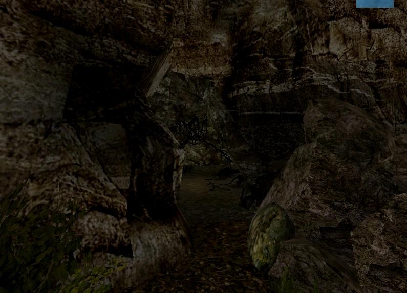 Jaskinia młodych olbrzymich szczurów