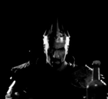Król Rhobar w intro Gothic Playable Teaser