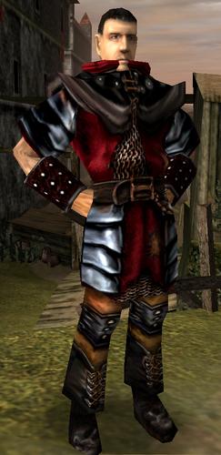 Bloodwyn na swoim posterunku w Starym Obozie