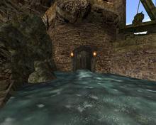 Wejście do kanałów od przystani (by SpY)