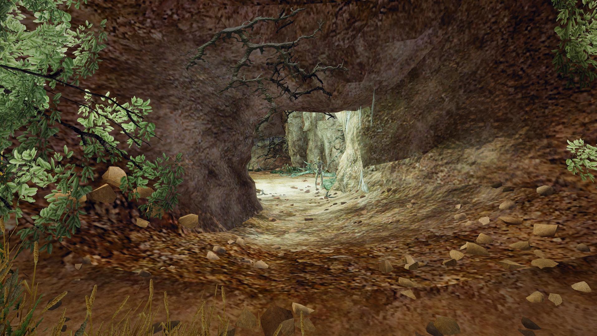 Jaskinia z kufrem Sigmora w Bakareshu