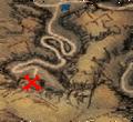 Lokacja domu kapłanów na mapie