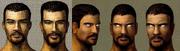 Prezentacja wstępnych szkiców twarzy Bezimiennego w Gothic 3