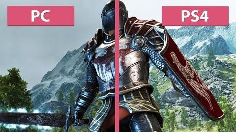 ArcaniA - porównanie grafiki w wersjach na PC i PS4