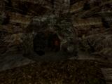 Jaskinia bandytów koło farmy Akila