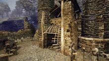 Zniszczona brama w Vengardzie