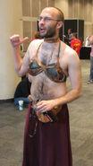 Gender-bending-metal-bikini-leia-nycc-2011