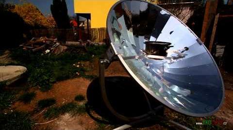 Solární vaření EKOLOGIK
