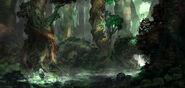 Kobo ancient forest by jackeavesart-d7fpnv0