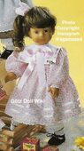 1986 DAPHNE - Götz Elegance Play Doll - 20 Inch Soft-Bodied Doll with Jointed Arms and Legs - WEICHGELENKPUPPE 11267 - Brown Hair, Gray Eyes - Pink Dress