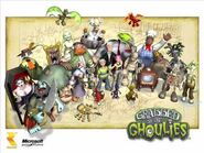 Jessie 'n Clyde Battle - Grabbed by the Ghoulies Soundtrack