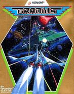 Gradius C64 US Cover