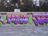 Graffiti masterpiece