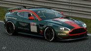 Aston Martin V8 Vantage Gr.4 Michelin Tire Sticker (Dark Green-Red)