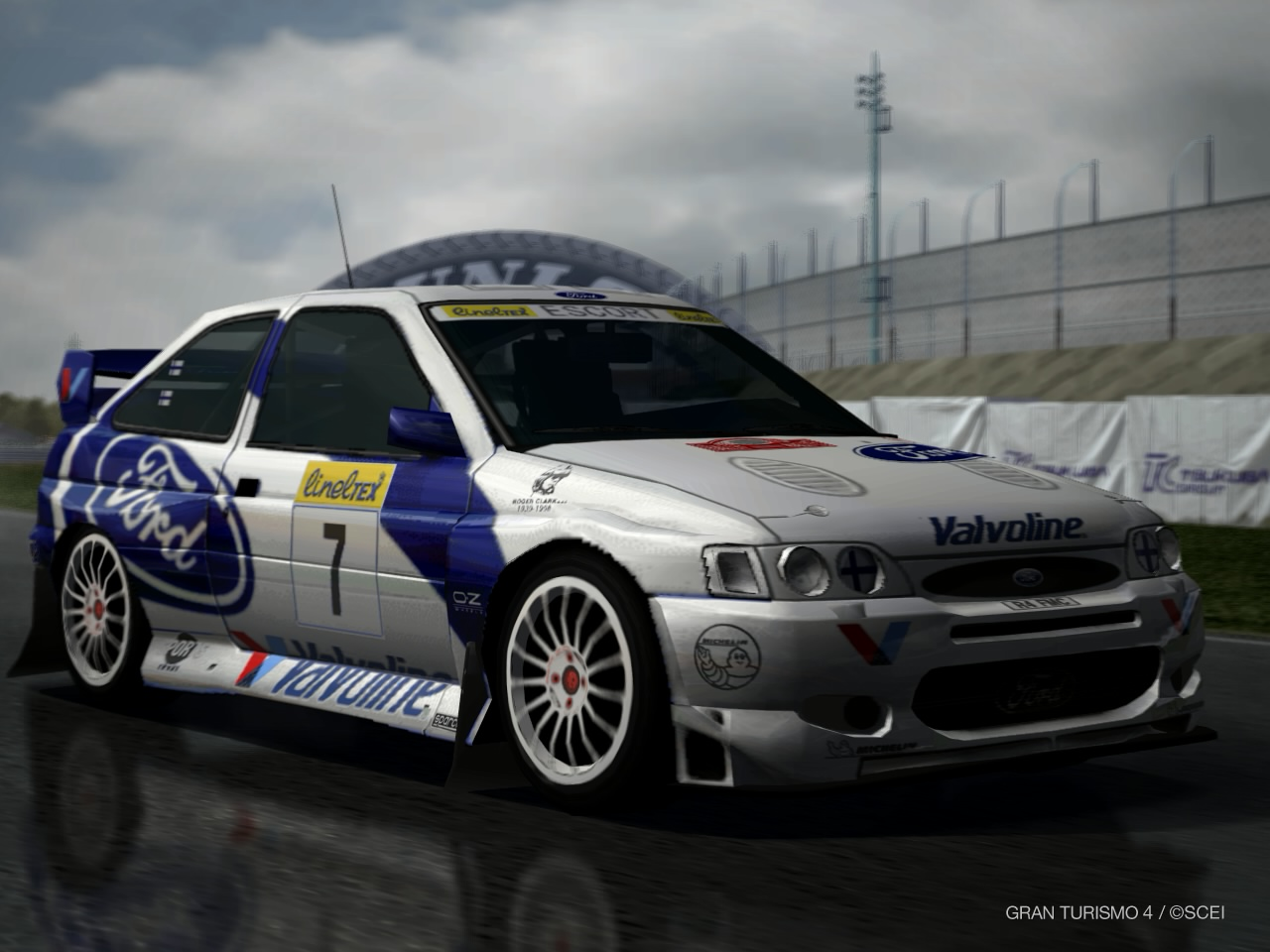 Ford Escort Rally Car '98