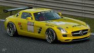 Mercedes-Benz SLS AMG Gr.4 Michelin Tire Sticker (Yellow)