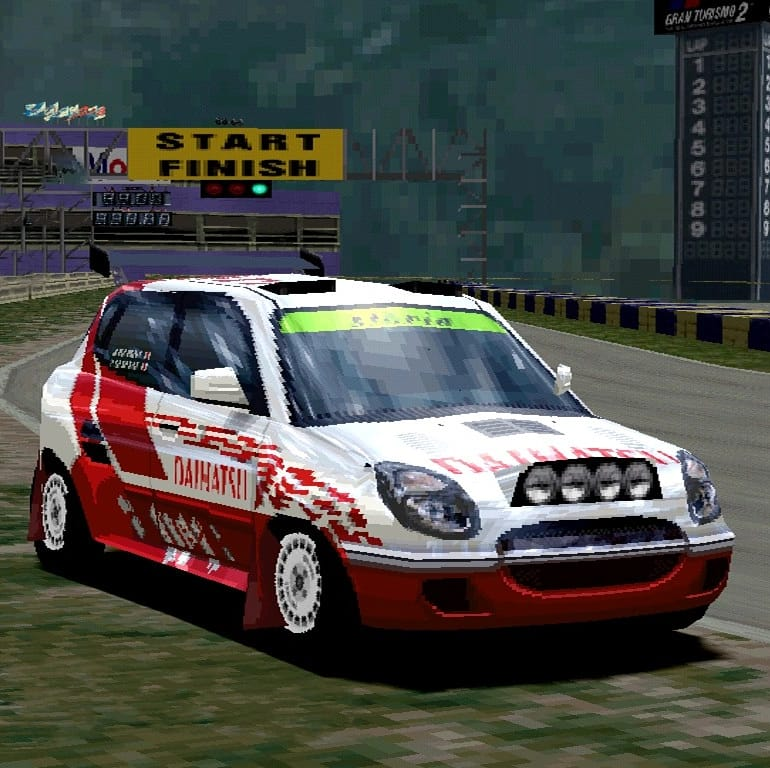 Daihatsu Storia Rally Car