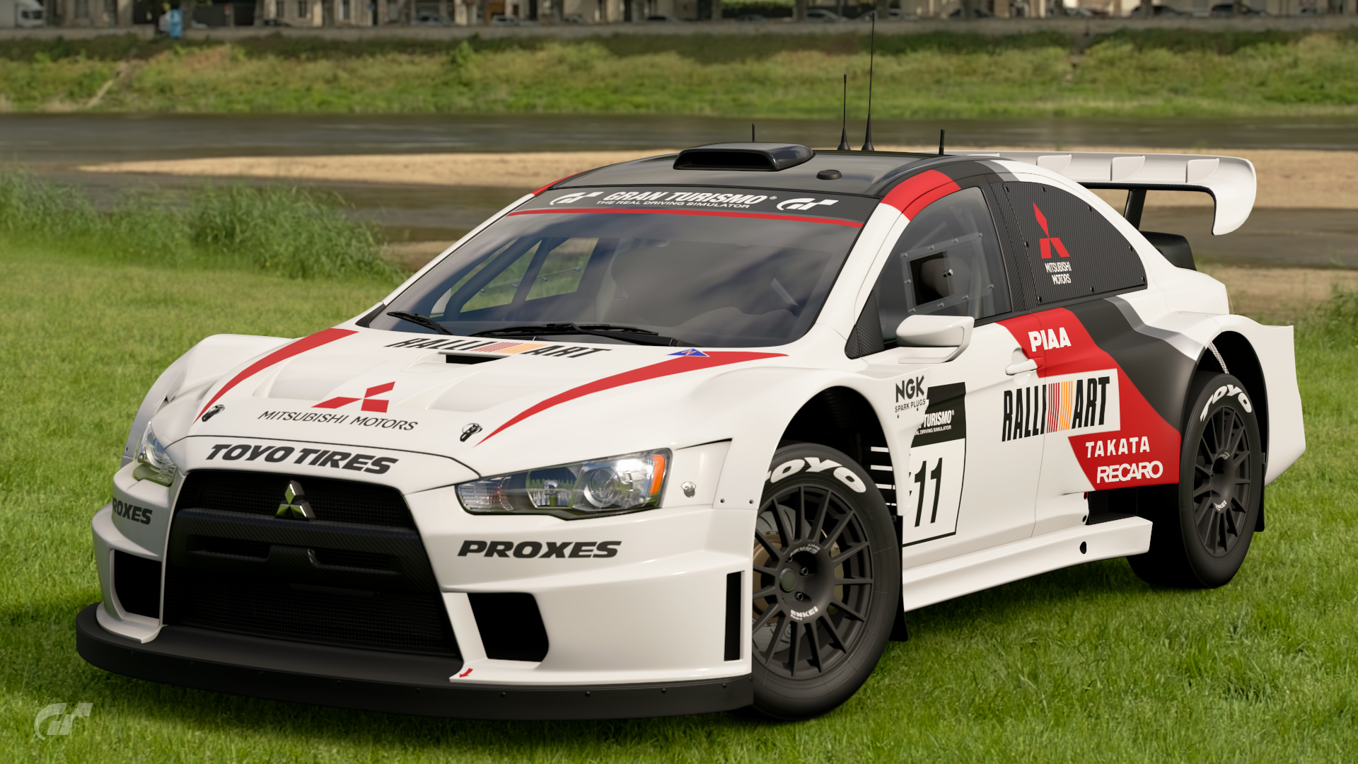 Mitsubishi Lancer Evolution Final Edition Gr.B Rally Car