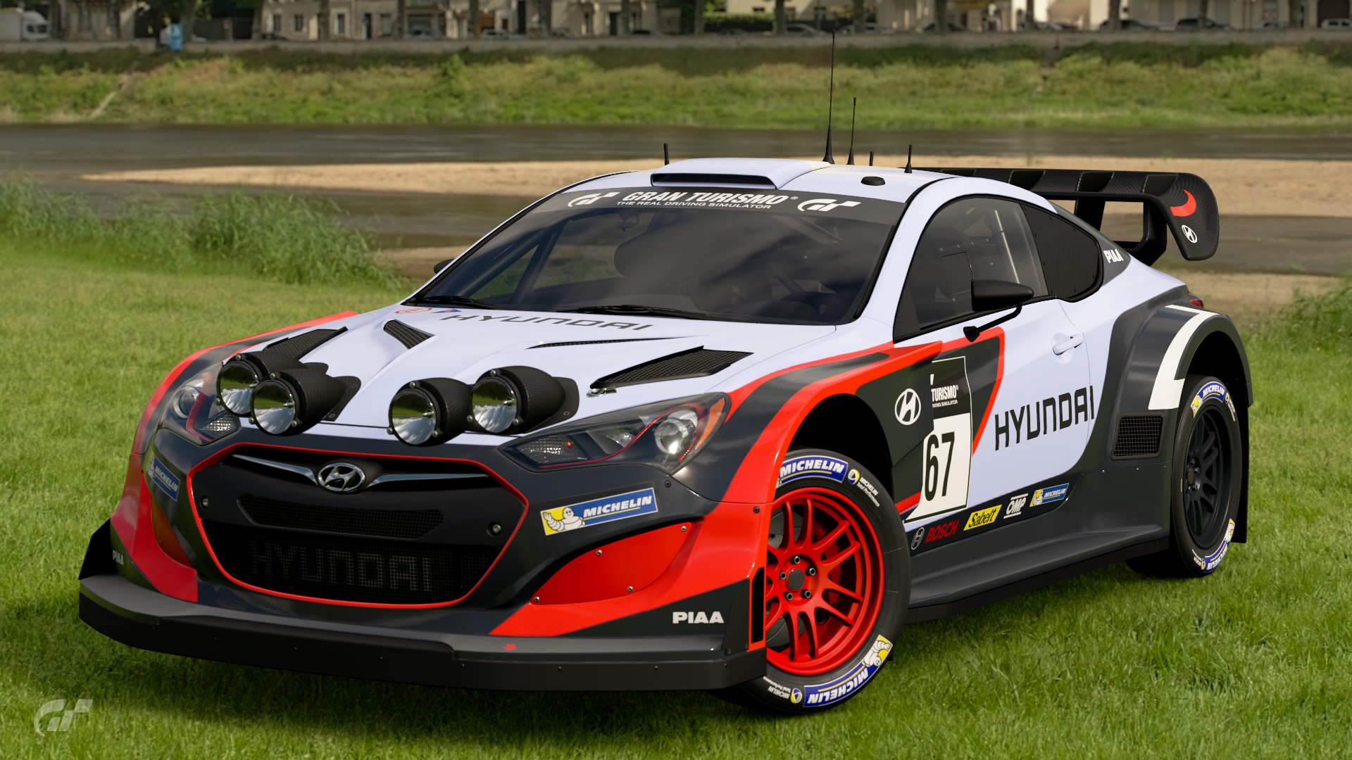 Hyundai Genesis Gr.B Rally Car