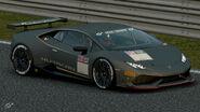 Lamborghini Huracan Gr.4 Michelin Tire Sticker (Gray)
