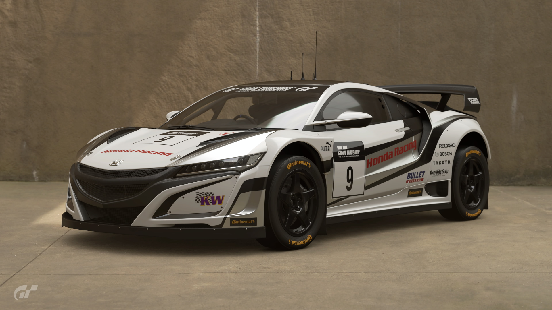 Honda NSX Gr.B Rally Car