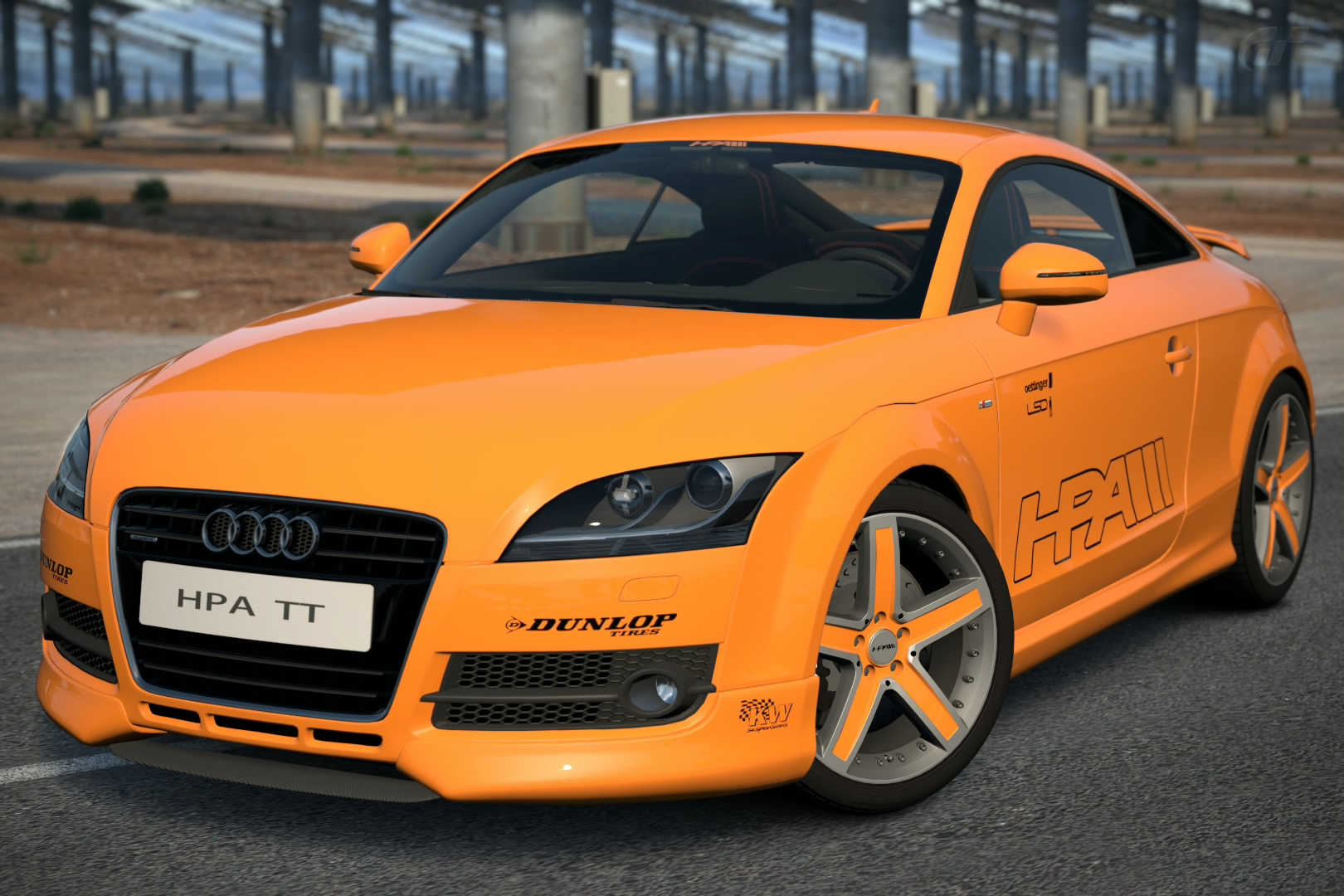 2007 HPA Motorsports FT565 twin turbo Audi TT
