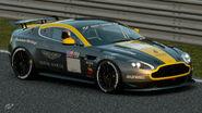Aston Martin Vantage Gr.4 Michelin Tire Sticker (Silver-Yellow)